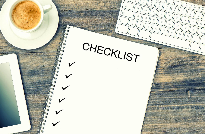 Prepare Application Launch Checklist